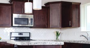 FREE Sample of Knotty Alder Cabinets Color