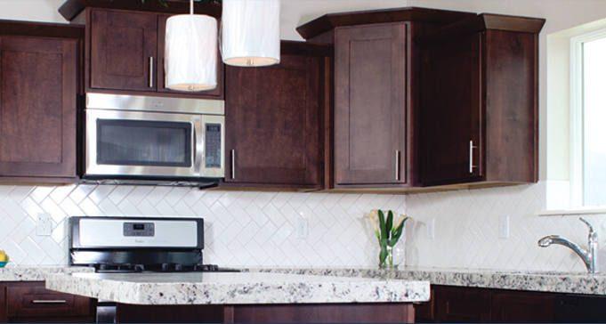 FREE Sample of Knotty Alder Cabinets Color