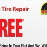 FREE Flat Tire Repair at Mr. Tire