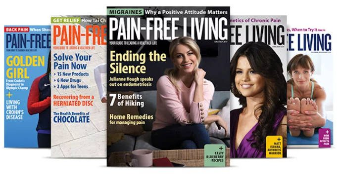 FREE Subscription to Pain-Free Living Magazine