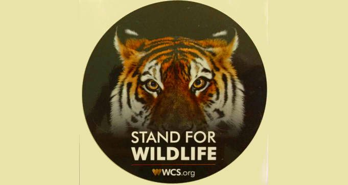 FREE Stand for Wildlife Sticker