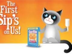 FREE Sample of Cat-Sip Real Milk Treat