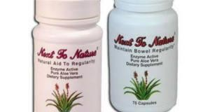 FREE Sample of Next To Nature Laxative