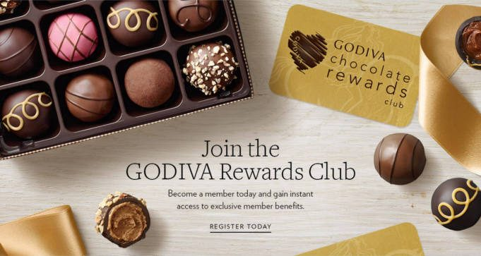 FREE Godiva Chocolate Every Month