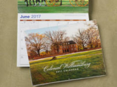 FREE Colonial Williamsburg Calendar