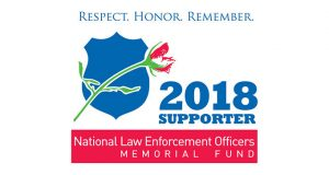 FREE 2018 NLEOMF Supporter Decal