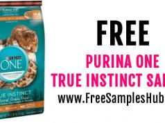 FREE Sample of Purina One True Instinct