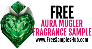 FREE Sample of Aura Mugler Eau De Parfum