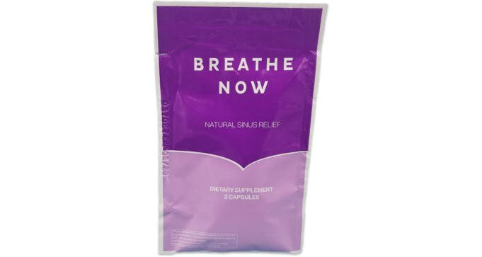 FREE Sample of Breathe Now Sinus Relief