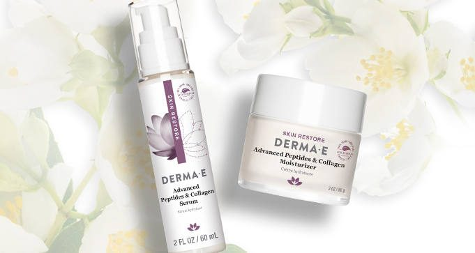 FREE Sample Duo of DERMA-E Advanced Peptide & Collagen Serum and Moisturizer
