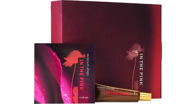 FREE Sample Pack of In the Pink Moisture Drops and Intimate Massage Oil
