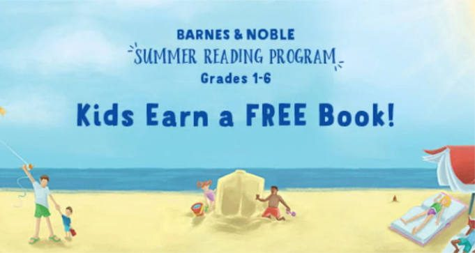 FREE Book for Kids with Barnes & Noble Summer Reading Program