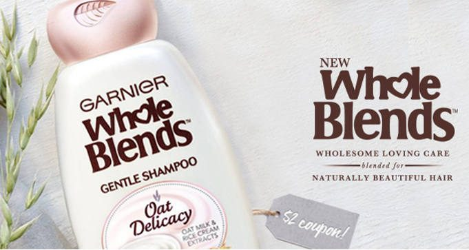 FREE Sample of Garnier Whole Blends Oat Delicacy