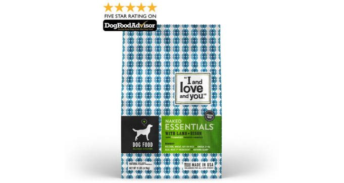 FREE Sample of I and Love and You Naked Essentials Dog Food