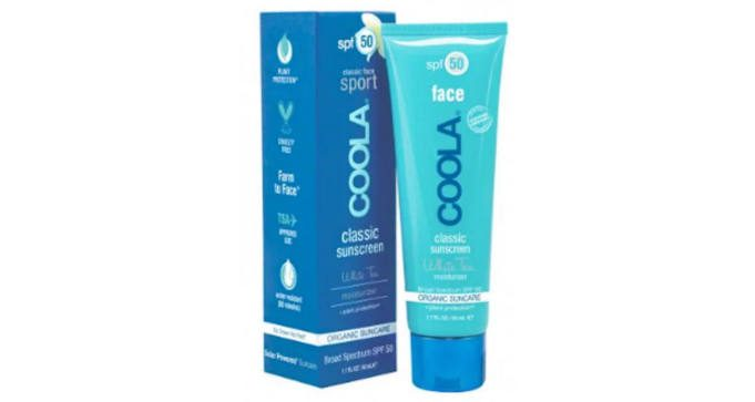 FREE COOLA Classic Face Sport SPF 50 White Tea Sunscreen
