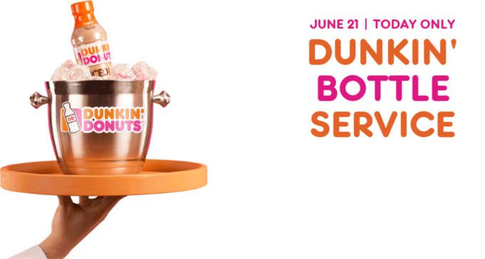 FREE Dunkin Donuts Bottled Iced Coffee