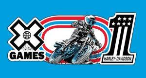 FREE Harley Davidson X Games Sticker