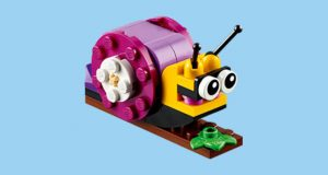 FREE LEGO Snail Mini Model Build at Lego Stores