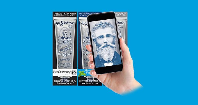 FREE Sample of Dr. Sheffields Toothpaste