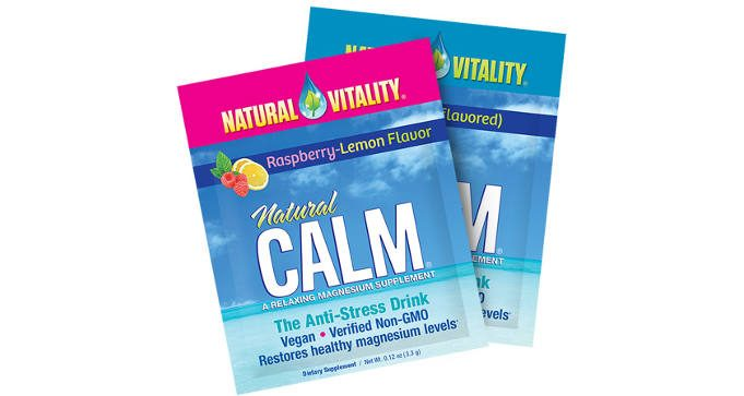 FREE Sample of Natural Vitality Natural Calm Magnesium Supplement
