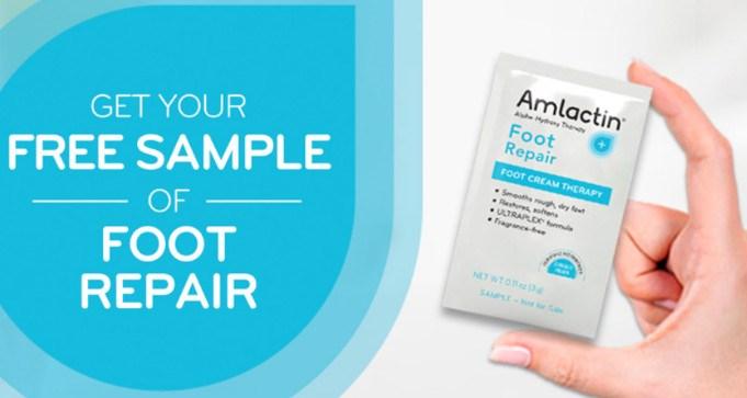 FREE Sample of Amlactin Foot Repair Cream