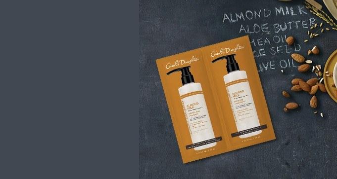 FREE Sample of Carol's Daughter Almond Milk Shampoo & Conditioner