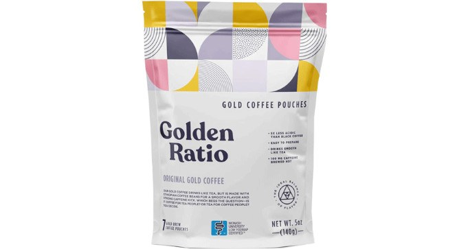 FREE Sample Pack of Golden Ratio Coffee